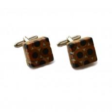 Recycled Derwent Colouring Pencil Cufflinks