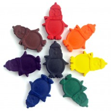 Non Toxic Wax Colouring Crayons-Penguins