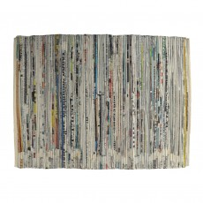 Fair Trade Recycled Paper Tablemats-Set of Four