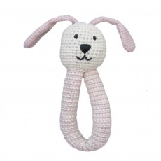 Organic Cotton Fairtrade Crochet Rabbit Rattle