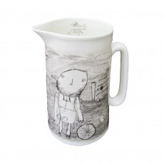 Large Bone China 2 Pint Jug-Relationship