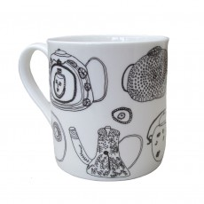 Fine Bone China Mug-Teapots