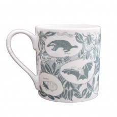 Fine Bone China Mug Decorated With British Wildlife
