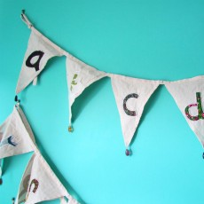 Fairtrade Alphabet Bunting