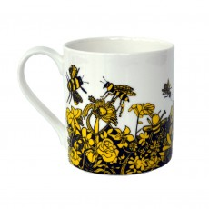 Fine Bone China Mug-'Bee Free'