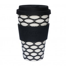 Eco-Friendly Reusable Coffee Cup With Drip Proof Lid 400ml/ 14oz