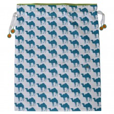 Camel Print Egyptian Cotton Travel Storage Bag