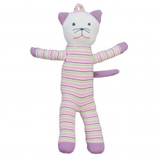 Organic Cotton Cat Soft Toy