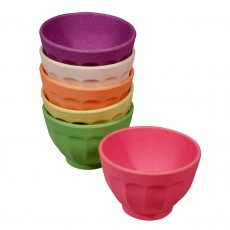 Eco-Friendly Bamboo & Cornstarch Set Of Colourful Bowls