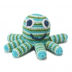 Fairtrade Handmade Crochet Octopus Toy