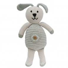 Organic Cotton Fairtrade Crochet Rabbit Toy