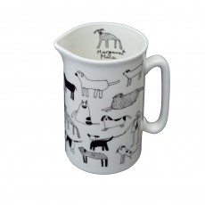 Fine Bone China Dog Jug – 1 Pint