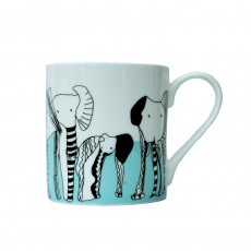 Fine Bone China Mug-Elephant 'Never Forget'