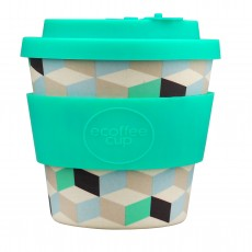 Eco-Friendly Reusable Coffee Cup With Drip Proof Lid 250ml/8oz