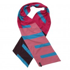 Graphic Colourful Cotton Jersey Long Scarf