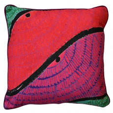 Square Cotton Canvas Digitally Printed Cushion - Sanjha
