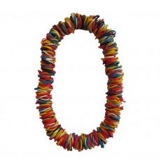 Short Natural Latex Rubber Necklace-Multicoloured