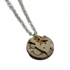 Upcycled Watch Piece Necklace