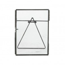 Fairtrade Free Standing Recycled Glass Frame-Large