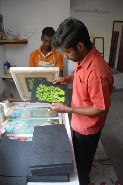 Interview-Tara Books- Mr 'A'- Hand Screen Printed Books