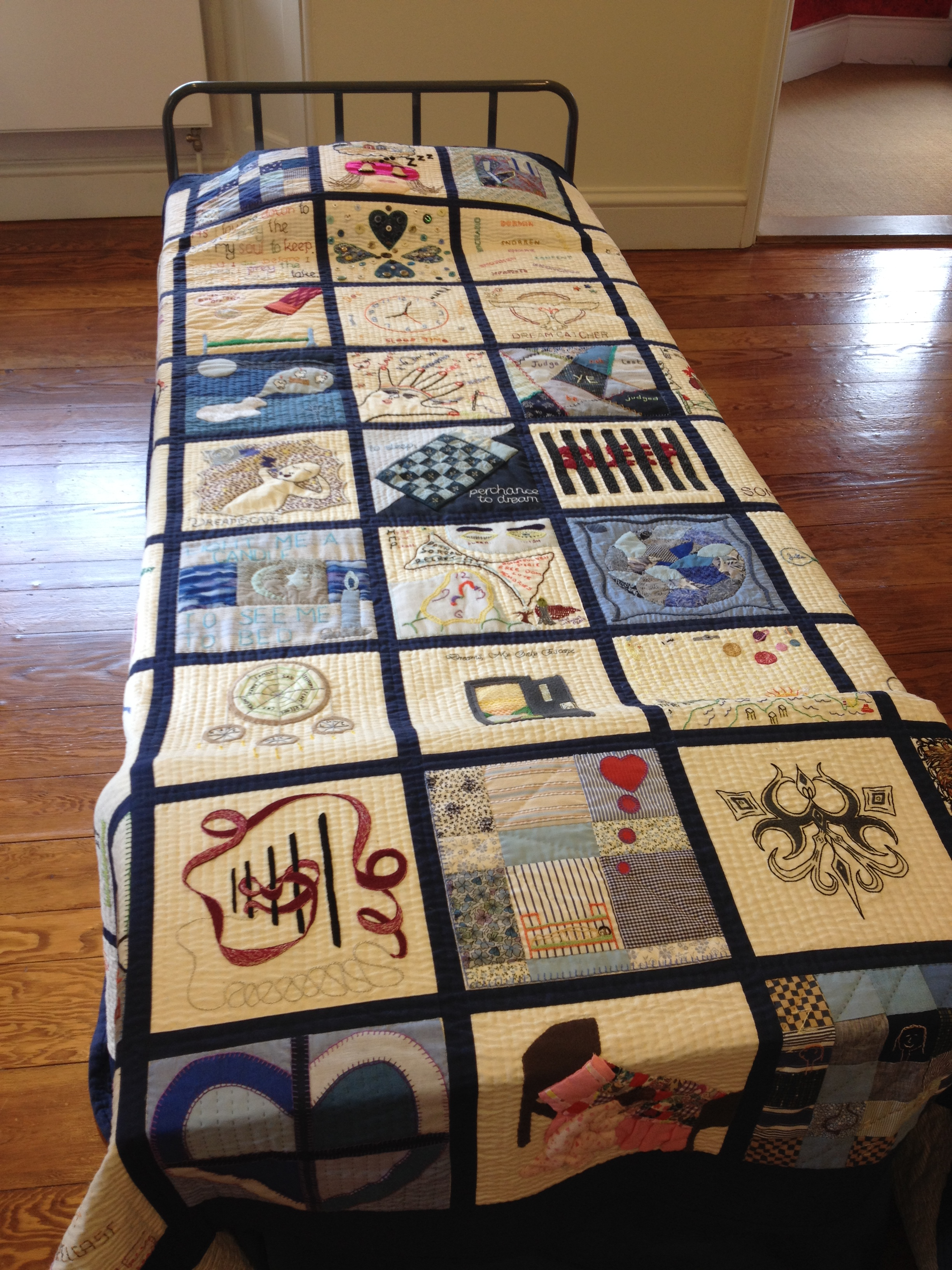 Quilting Past & Present:Things We Do In Bed