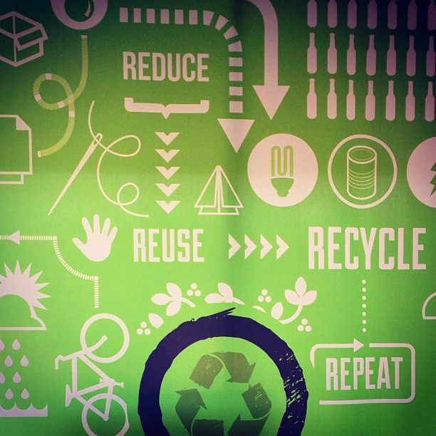 Reduce, Reuse Recycle