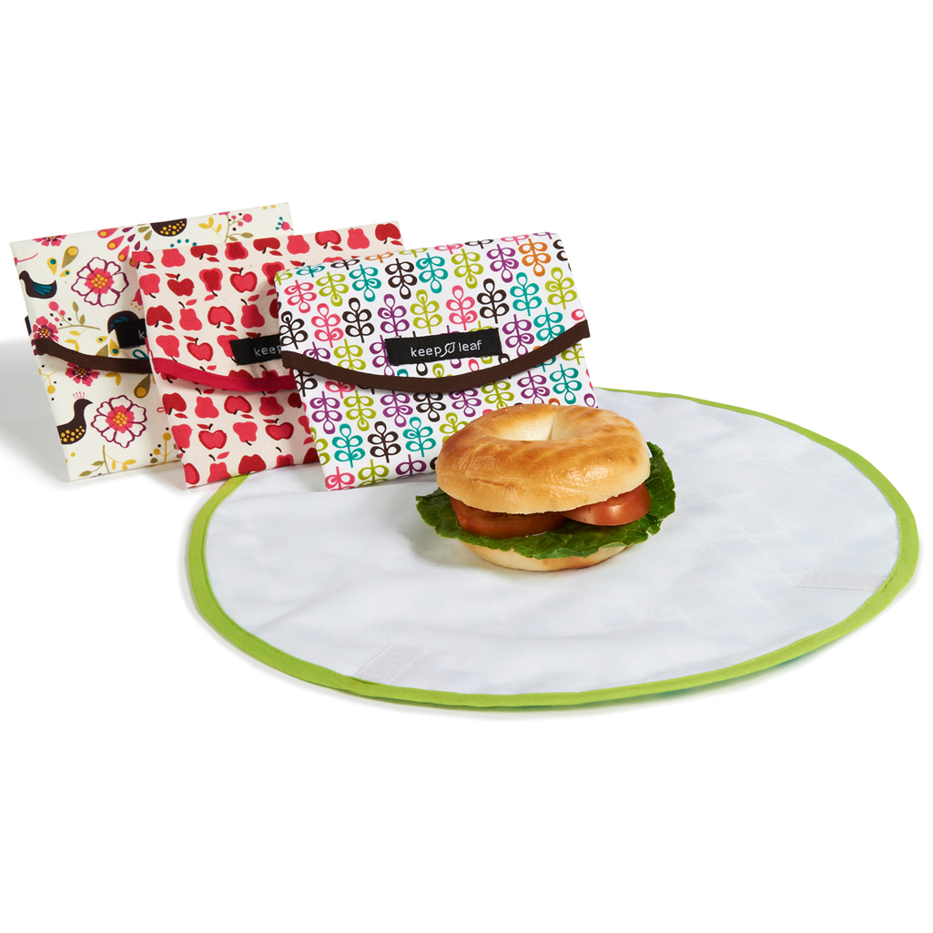 Reusable Sandwich Wraps and Bottles